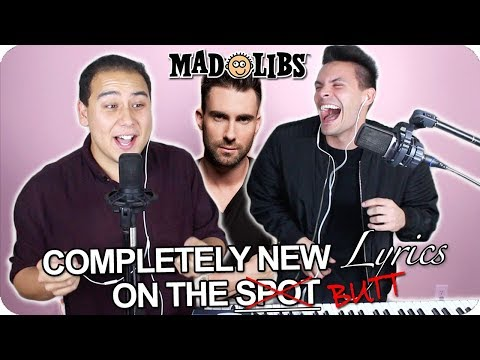 "Maroon 5 - ""Girls Like You"" MadLibs Cover (LIVE ONE-TAKE!) ft. Cardi B"