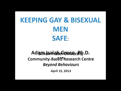 Keeping Gay & Bisexual Men Safe