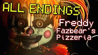 FINAL NIGHT GOOD / TRUE END - Freddy Fazbear