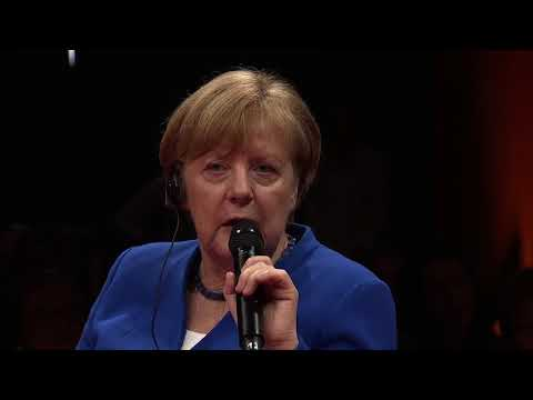 GLOBAL SOLUTIONS 2018 - Q&A with German Chancellor Angela Merkel