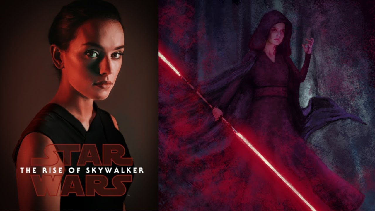 Daisy Ridley Says Dark Rey Makes Sense For Her Story Star Wars The Rise Of Skywalker Youtube
