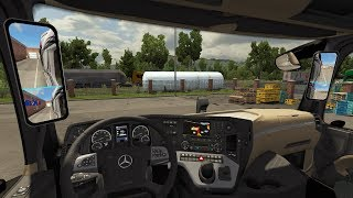 [ETS2 v1.35] New Actros 2019 Mirror Cam