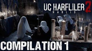UC Harfliler 2: Hablis | Turkish Horror Movie | Compilation Part 1 | Funda Aksoy | Elvan Albat