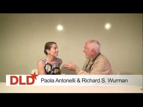 DLD Breakfast Club NYC - Paola Antonelli & Richard S. Wurman