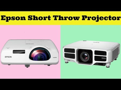 10 Best Epson Short Throw Projector Reviews 2019!