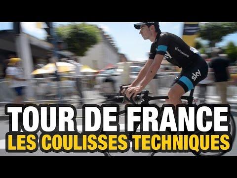 Tour de France 2014 : les coulisses techniques