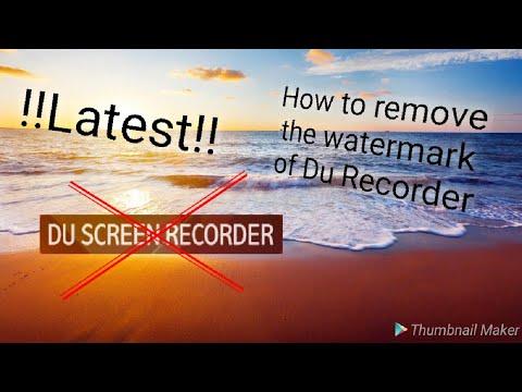 Download Apk Du Recorder Mod No Watermark - iTechBlogs co