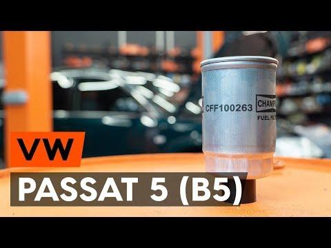 Jak Vyměnit Palivový Filtr Na VW PASSAT 5 (B5) [NÁVOD AUTODOC]