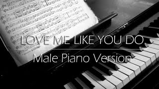 Love me like you do - Ellie Goulding COVER (Piano Version) with INSTRUMENTAL download