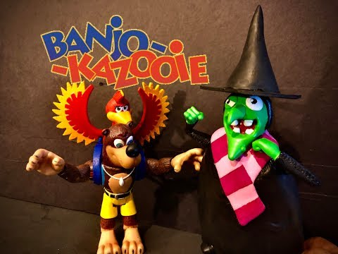 RESTORING Gruntilda (CUSTOM!!) Banjo kazooie custom toys