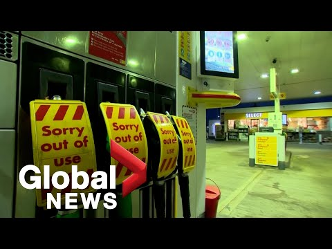 UK minister denies fuel shortage, blames panic buying and shortage of drivers