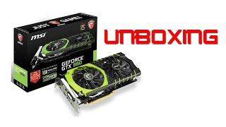 UNBOXING GEFORCE GTX 960 GAMING 100ME | GLOBALDATA