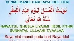 Doa Niat Mandi Hari Raya Idul Fitri
