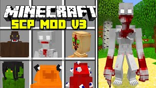 Minecraft SCP FOUNDATION V3 MOD / SCP 096, SCP 173, 106, SCP 9999!! Minecraft Mods