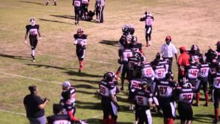 Georgia Falcons vs Gwinnett Patriots DSFL Semi Pro football 2016