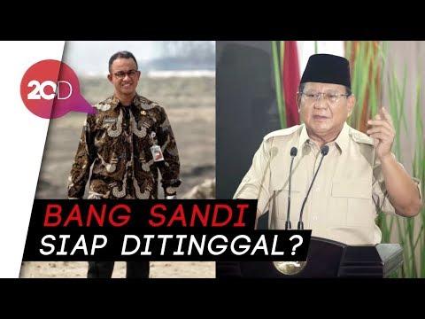 Sandi soal Pilpres: Besar Harapan Dijatuhkan pada Anies-Prabowo