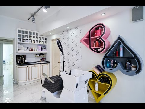 Дизайн салона красоты на Ленинском 72