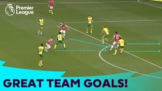 20 GREAT Team Goals | Premier League Compilation
