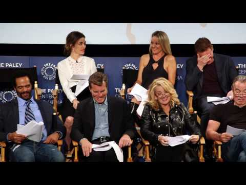 Cast members of The Young and The Restless read the very first episode at The Paley Center