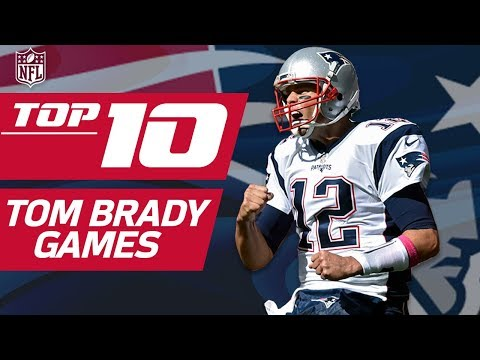 Top 10 Tom Brady Games... So Far | NFL Films