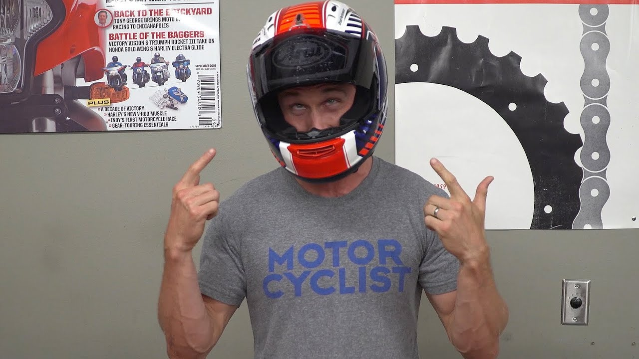 b596dbb7 How To Wash Your Motorcycle Helmet | MC GARAGE - YouTube