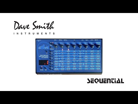 Demo - Dave Smith Instruments | DSI | Sequential | Evolver * No Talking * Stock 1-69 Sequences