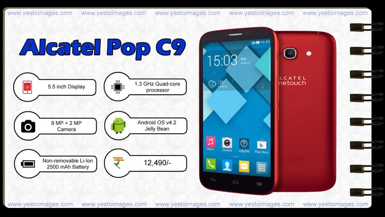Alcatel       Pop       C9     YouTube