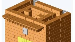 Теплоемкая печь(Огромный выбор проектов, каминов, печей, барбекю, на сайте: http://bit.ly/1GYo9xk Тэги для этого видео: проекты камин..., 2015-07-03T14:32:53.000Z)