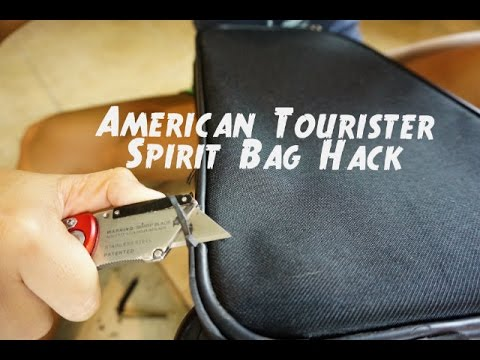 American Tourister Spirit Bag Hack