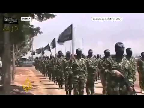 Many Rebel Groups Join Forces In Syria