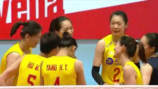 China vs Turkey | Montreux Volleyball Masters 2019