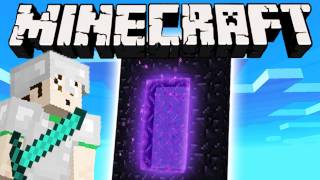 Minecraft - NETHER PORTAL thumbnail