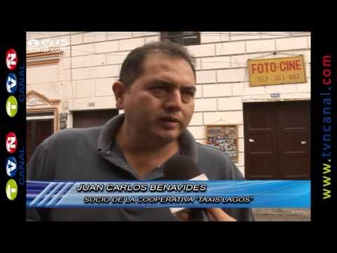 """Cooperativa """"Taxis Lagos"""" de Ibarra se reincorpora a sus labores tras suspensión (Noticias Ecuador)"""