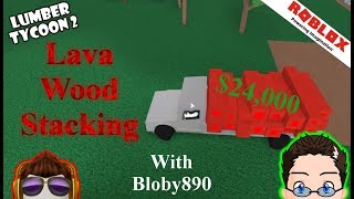 Roblox - Lumber Tycoon 2 - Lava Pro Stack for Money with Bloby890