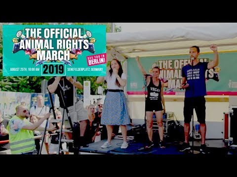 That Vegan Couple Speech At The Official Animal Rights March 2019 In Berlin