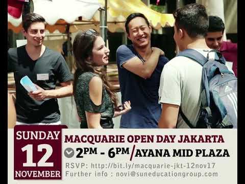 Macquarie University (Australia) Open Day Jakarta