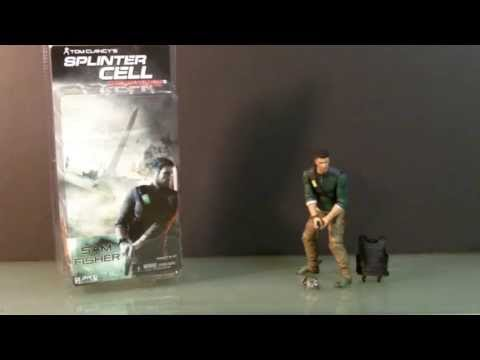 2010 NECA Splinter Cell Conviction Sam Fisher