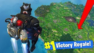 WHAT HAPPENS When You JETPACK AT MAX HEIGHT In Fortnite Battle Royale