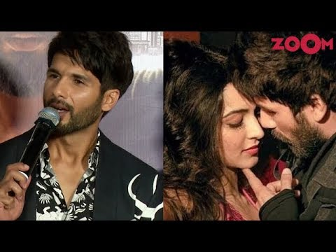 Shahid Kapoor SLAMS a reporter for asking questions about kissing scenes in his film 'Kabir Singh' Mp3