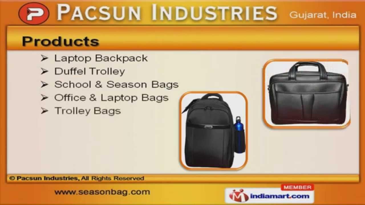 School bag ahmedabad gujarat - Laptop Backpack By Pacsun Industries Ahmedabad