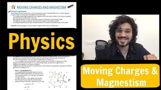 Moving Charges and Magnetism Notes | Class 12 Physics | NCERT Notes | Full Marks🔥 | All PYQ's