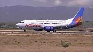G-GDFL Jet2 Landing (Palma de Mallorca Airport)