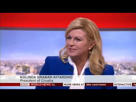 Intervju Predsjednice Republike za BBC World News, 12. 10. 2016.
