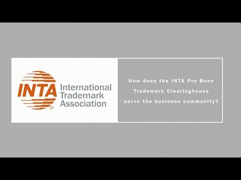 How does the INTA Pro Bono Trademark Clearinghouse serve the business community?