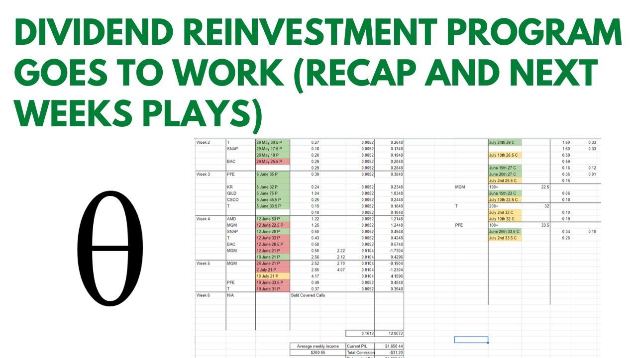 Dividend reinvestment program scottrade options rob taylor forex