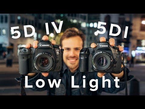 Canon 5D Mark I vs 5D Mark IV: A Low-Light Comparison