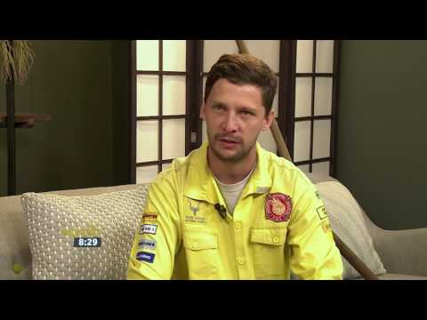 Volunteer Firefighter Jon-Jon Emary tackles Western Cape Fires