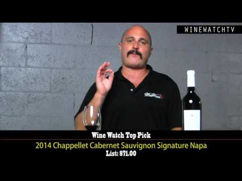 Wine Watch Top Pick Winery 2016: Chappellet Winery - click image for video