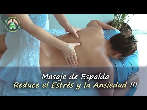 Masaje de espalda relajante | Relaxing back massage