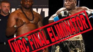 BREAKING NEWS: DILLIAN WHYTE VS LUIS ORTIZ WILL BECOME WBC MANDATORY CHALLENGER,  SHOULD THEY FIGHT